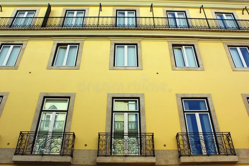 Particolare di vecchia costruzione, Lisbona, Portogallo fotografia stock libera da diritti