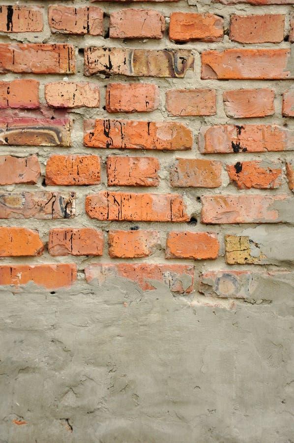 Particolare di vecchio muro di mattoni immagine stock libera da diritti