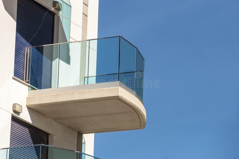Particolare moderno della costruzione di architettura fotografie stock libere da diritti