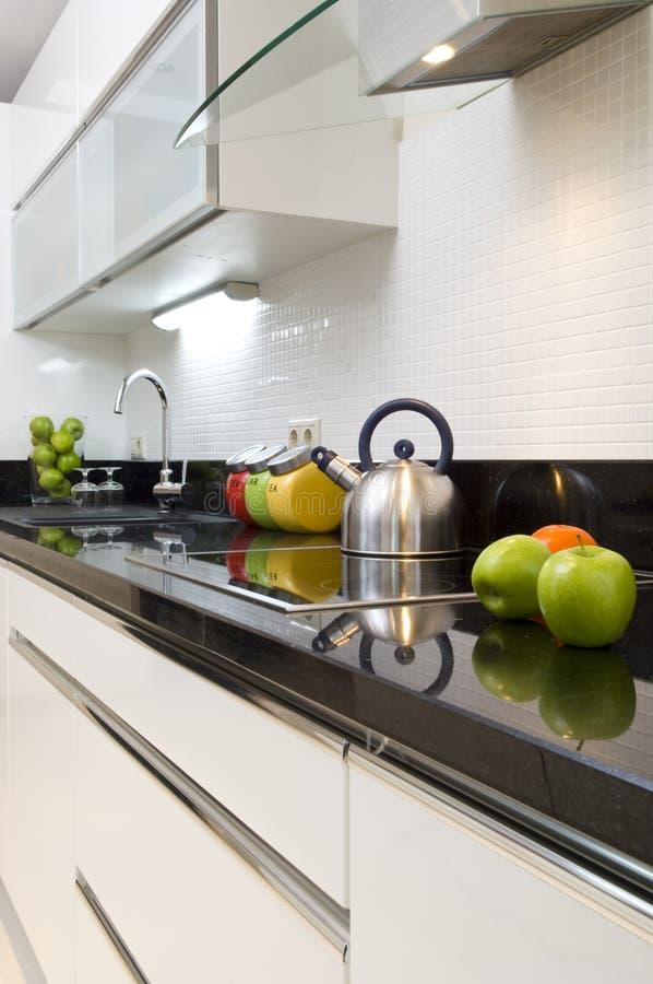 Particolare moderno della cucina fotografia stock - Cucina particolare ...