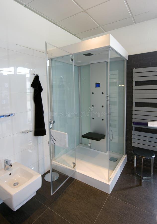 Particolare moderno della stanza da bagno immagine stock immagine di igiene basic 25762217 - Stanza da bagno ...