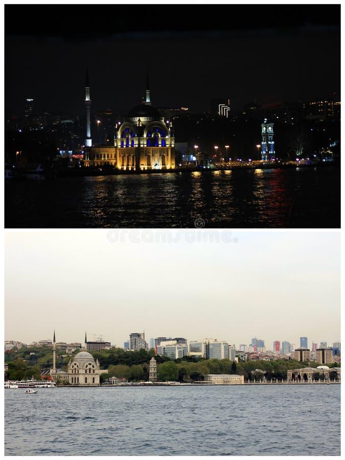 Particolari architettonici del palazzo di Dolmabahce, Costantinopoli immagini stock libere da diritti