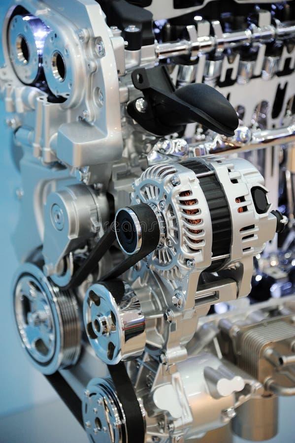 Particolari del motore di automobile immagine stock