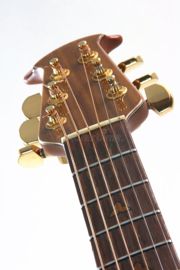 Particolari della chitarra fotografia stock