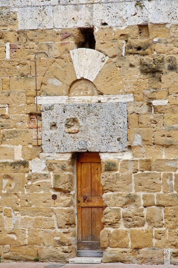 Particolari di architettura medioevale fotografia stock
