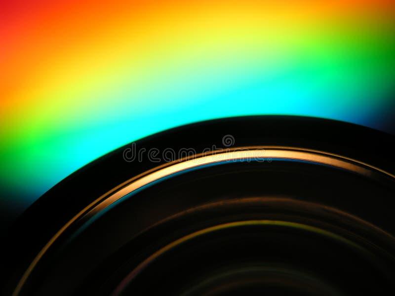 Particolari di DVD fotografia stock