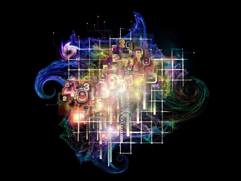 Particule de réalité illustration de vecteur