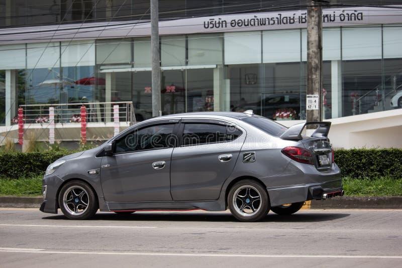Particuliere auto Mitsubishi Attract royalty-vrije stock foto's