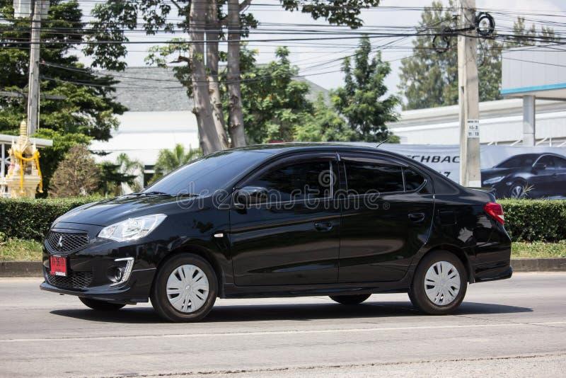 Particuliere auto Mitsubishi Attract stock fotografie