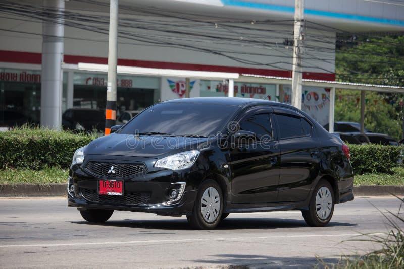 Particuliere auto Mitsubishi Attract stock foto
