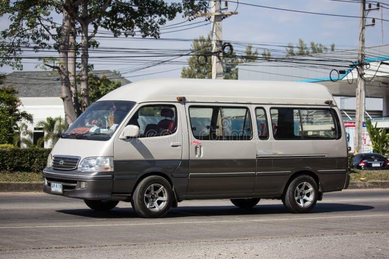 Particuliere schoolbestelwagen royalty-vrije stock afbeelding
