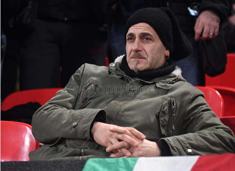Partidarios de Juventus fotos de archivo libres de regalías