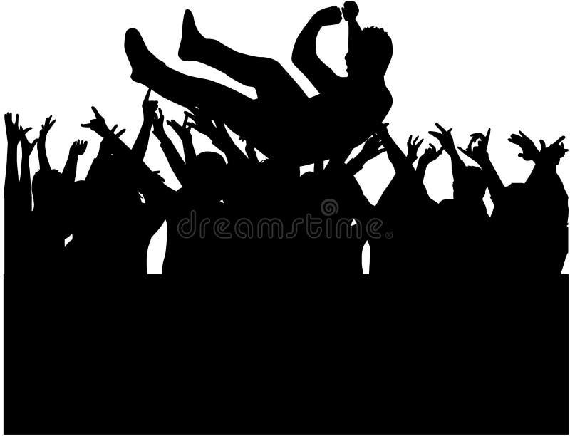 Partido ilustração do vetor