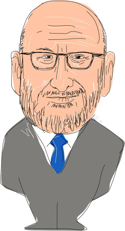 Partido BRITÁNICO de la independencia de Paul Nuttall Leader libre illustration