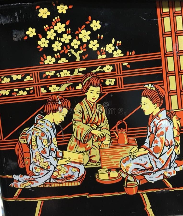 Partido, celebración, gala, kimono, meditación foto de archivo