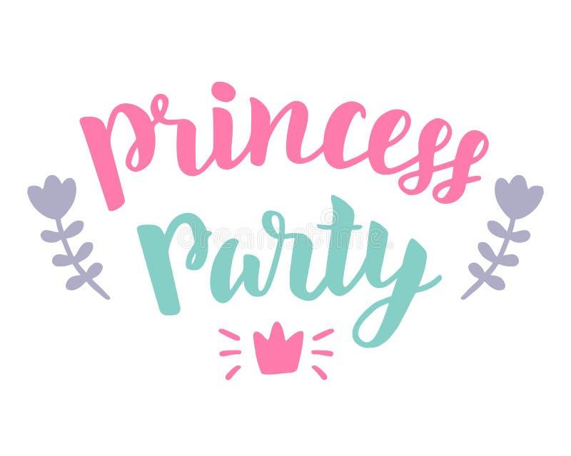 Partido da princesa ilustração royalty free