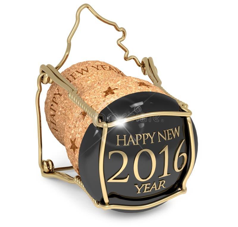 Partido de ano novo ilustração do vetor
