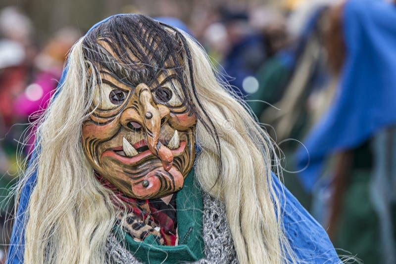 Partido de Carneval da bruxa foto de stock royalty free