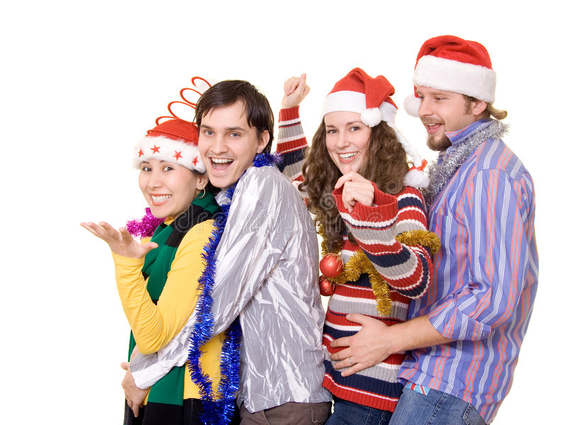 Partido de Christmass foto de archivo libre de regalías