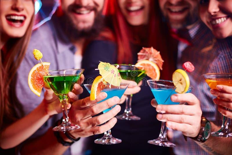 Partido de cocktail foto de stock