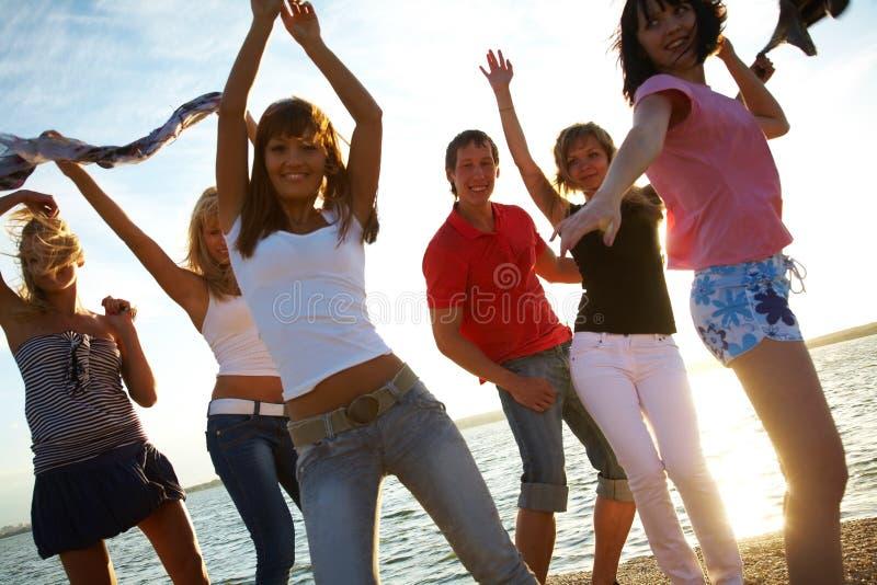 Partido de Dansing imagem de stock royalty free