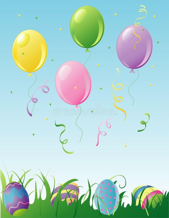 Partido de Easter ilustração do vetor