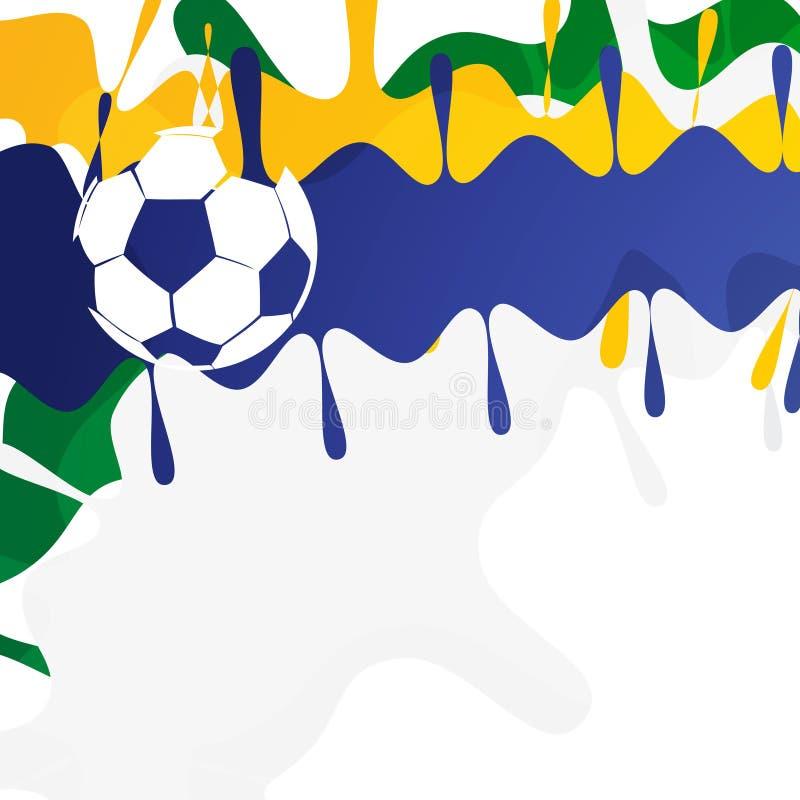 Download Partido de fútbol ilustración del vector. Ilustración de artístico - 41919551