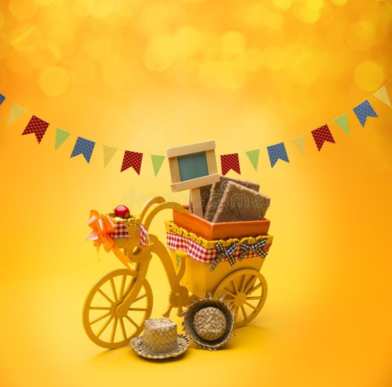 Partido de Festa Junina fotos de stock royalty free