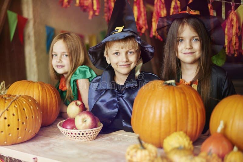 Partido de Halloween foto de stock royalty free