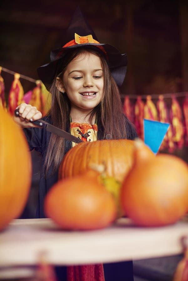 Partido de Halloween fotografia de stock