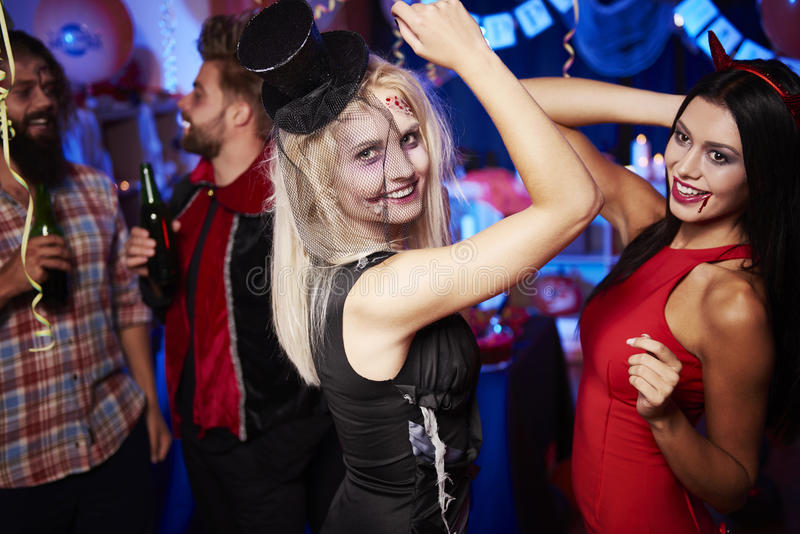 Partido de Halloween imagens de stock royalty free