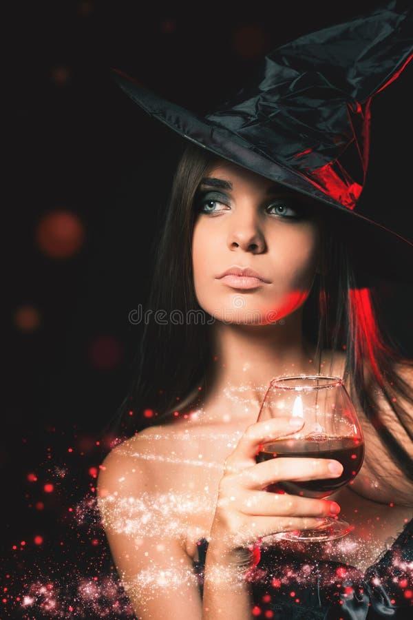 Partido de Halloween Trajes de Dia das Bruxas fotografia de stock
