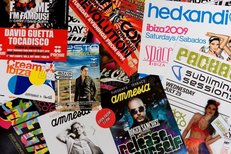 Partido de Ibiza fotos de archivo libres de regalías