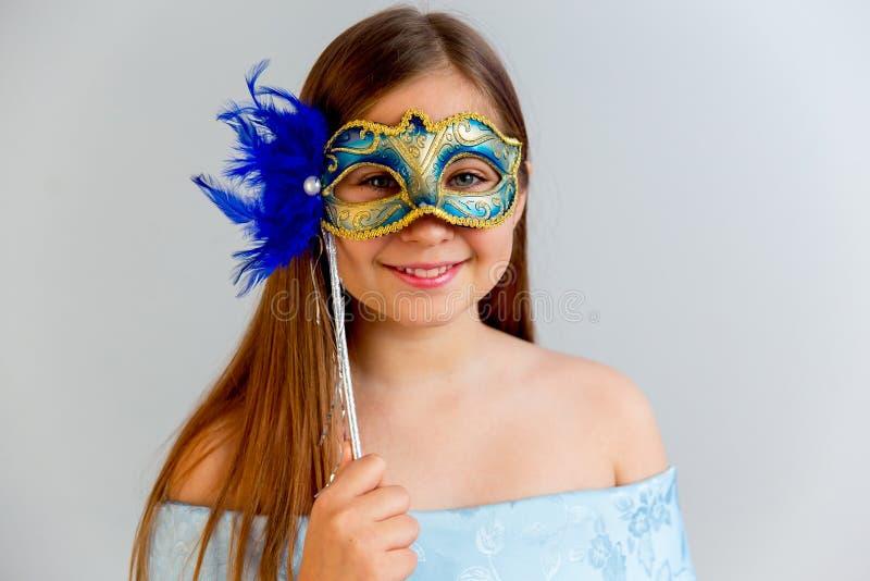 Partido de la mascarada de la muchacha fotos de archivo libres de regalías