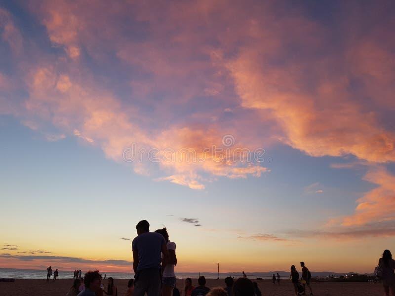 partido de la playa imagen de archivo libre de regalías