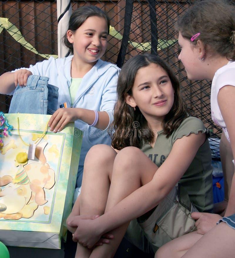 Partido de las muchachas foto de archivo