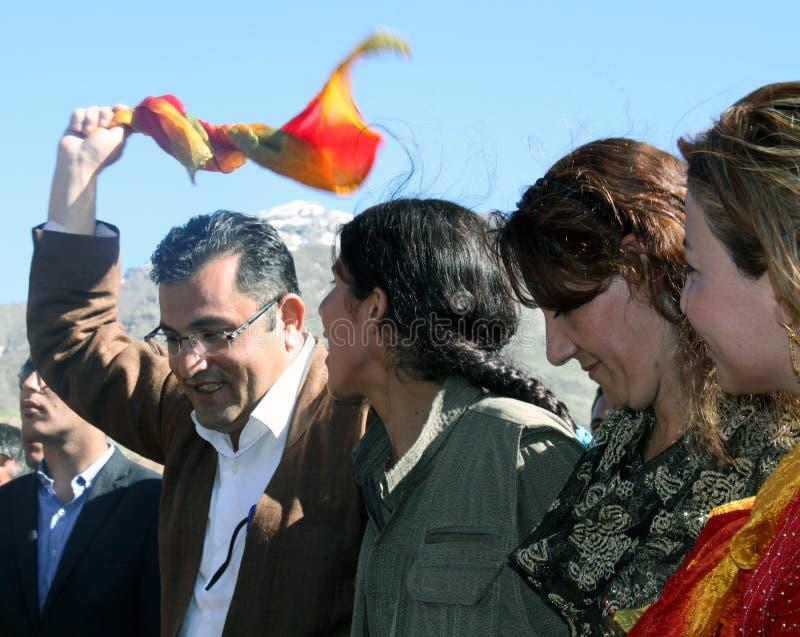 Partido de Newroz fotografia de stock royalty free