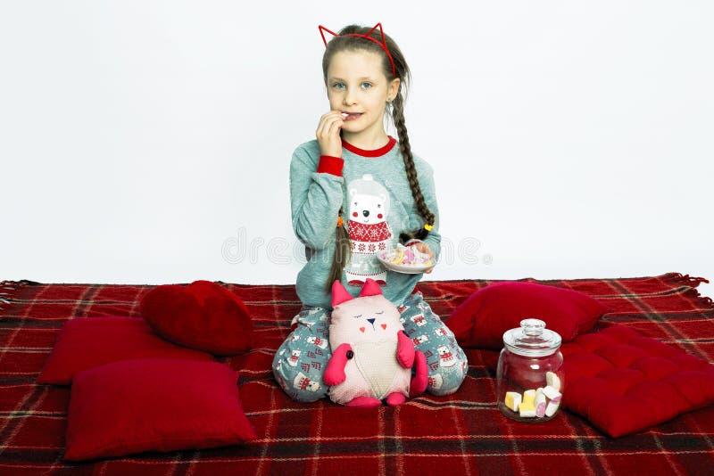 Partido de pijama imagens de stock