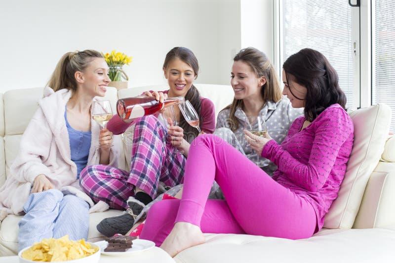 Partido de pijama foto de archivo