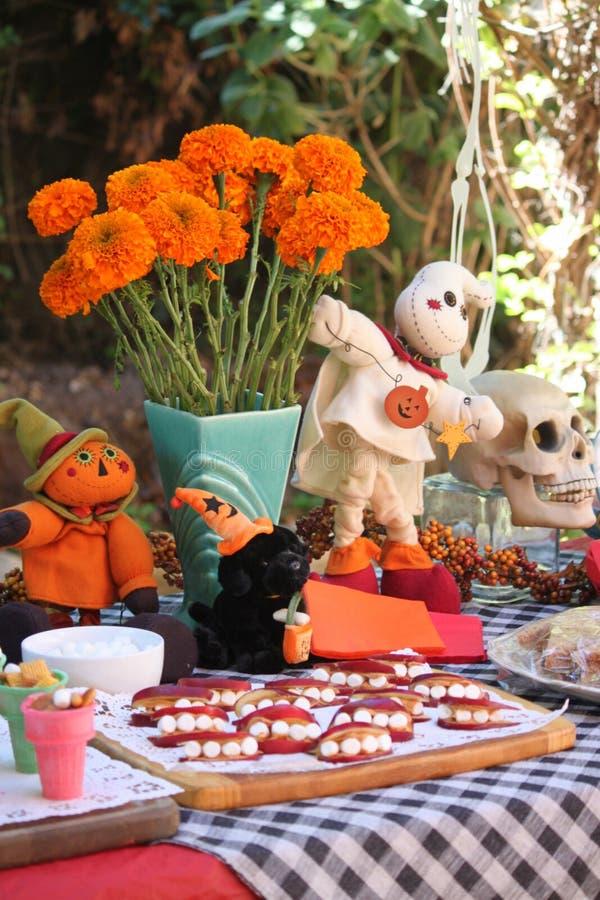 Partido de Víspera de Todos los Santos foto de archivo