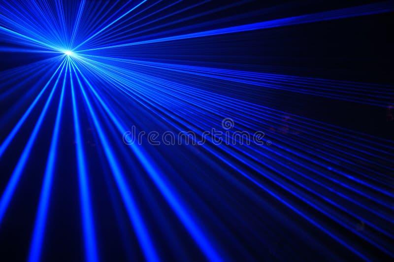 Partido del laser foto de archivo