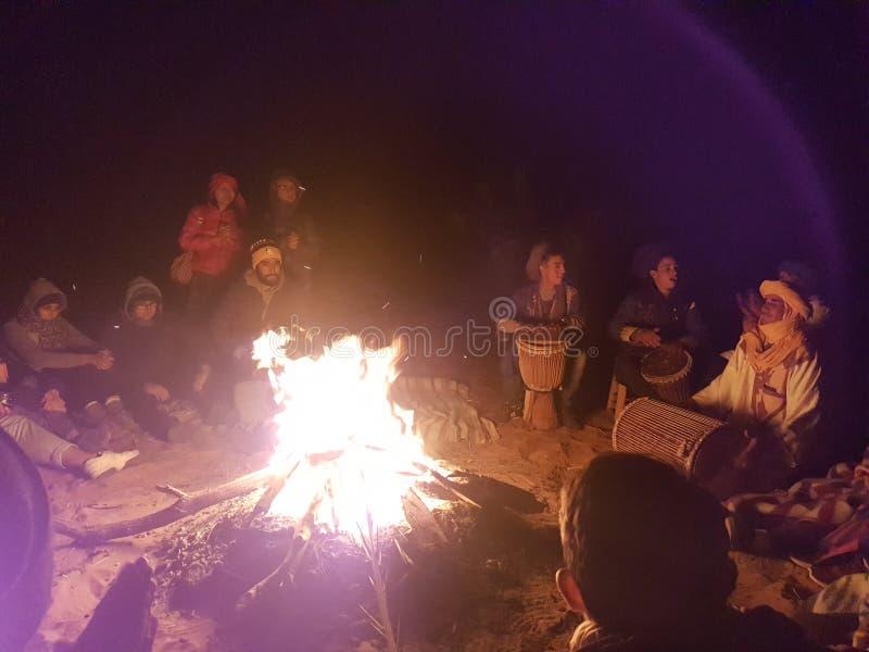Partido del nómada foto de archivo libre de regalías