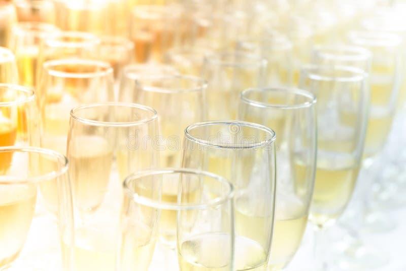 Partido del vino de la puesta del sol fotos de archivo