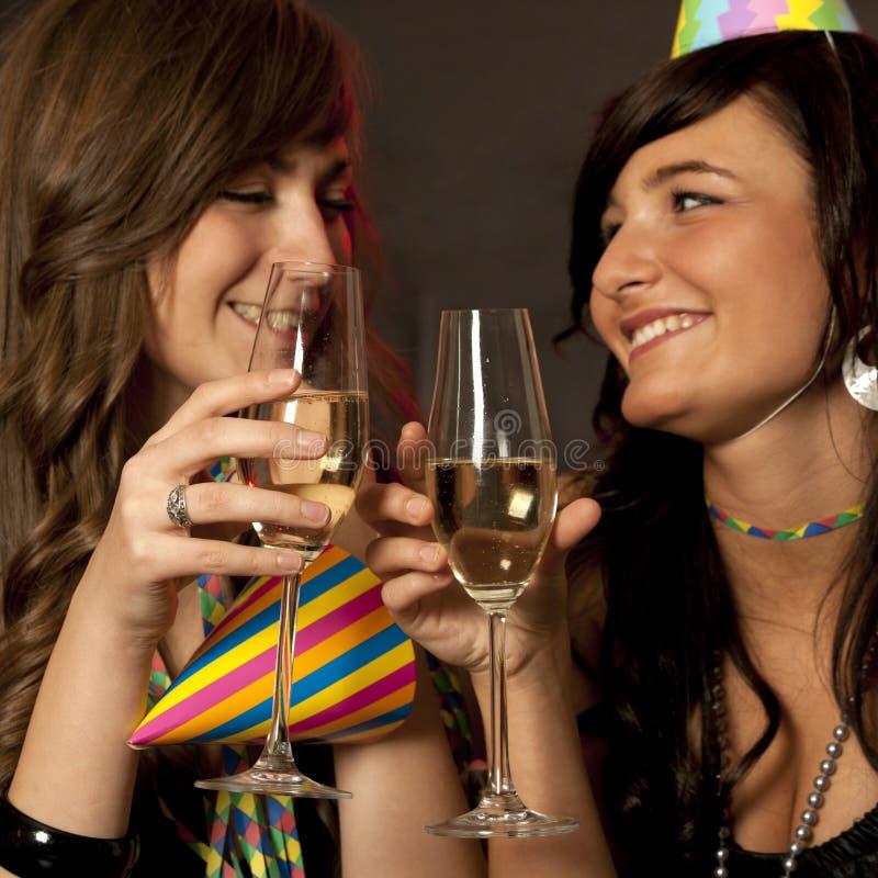Partido do ano novo! imagem de stock