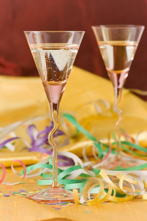 Partido do ano novo foto de stock royalty free
