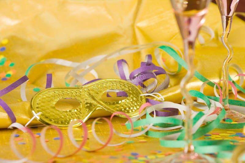 Partido do ano novo fotos de stock