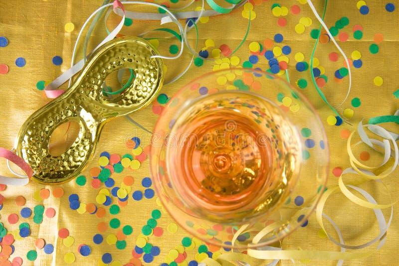 Partido do ano novo imagens de stock royalty free