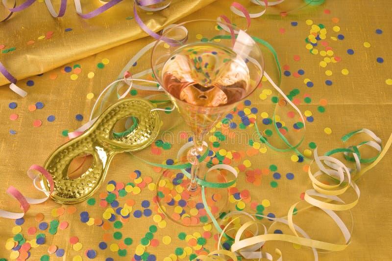 Partido do ano novo foto de stock