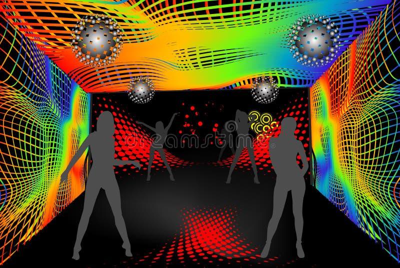 Partido do disco ilustração royalty free