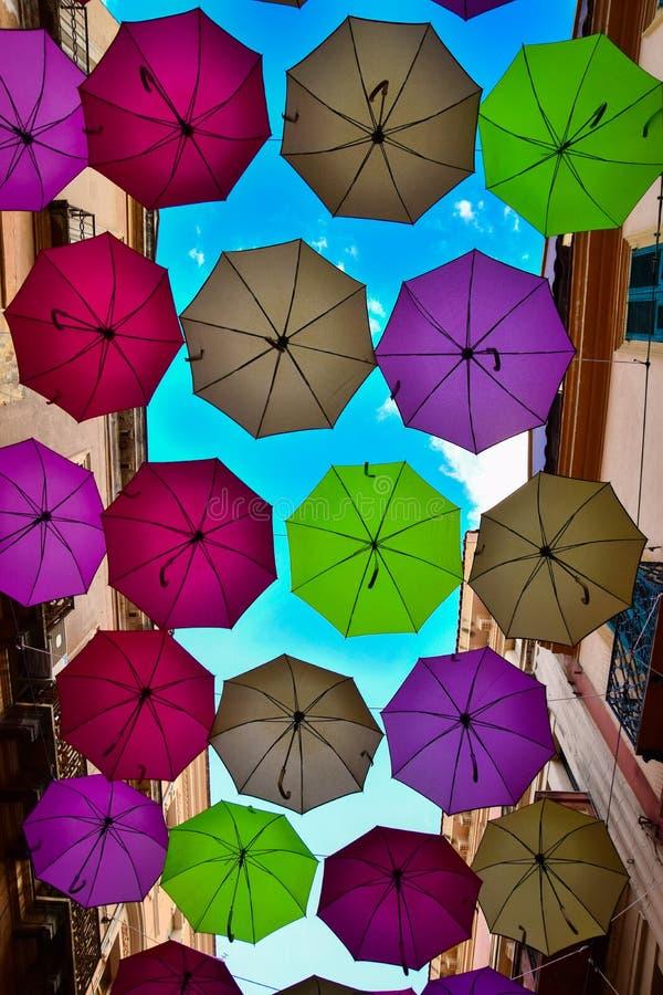 Partido do guarda-chuva fotografia de stock royalty free